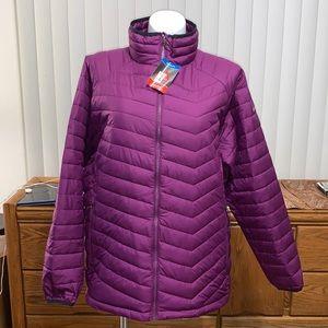 Columbia Purple Omni-Heat Thermal Reflective Coat